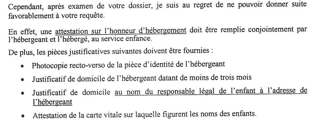 Le Droit A La Cantine De Tous Les Enfants Scolarises Sans